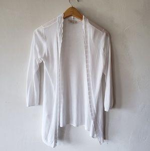 LOFT Lace sweater